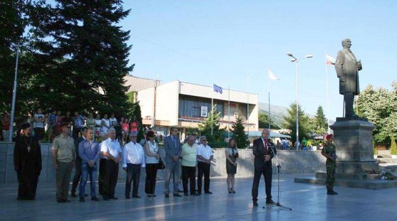 Заместник-областният управител Георги Пилев се преклони пред Патриарха на българската литература