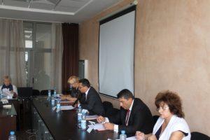 Областният управител Здравко Димитров председателства заседание на Регионалния съвет за развитие на Южен централен район в гр. Хисаря