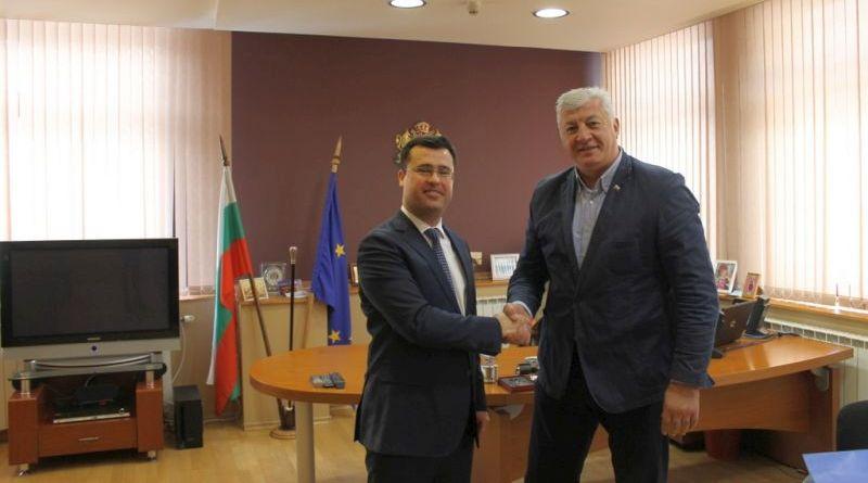 Областният управител Здравко Димитров се сбогува с Генералния консул на Турция Бирей Йълмазсой