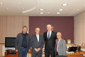 Здравко Димитров разговаря с Н.Пр. Сакер Малкауи - Извънреден и пълномощен посланик на Хашемитско Кралство Йордания в Букурещ