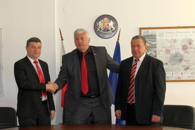Областният управител Здравко Димитров представи новите си заместници