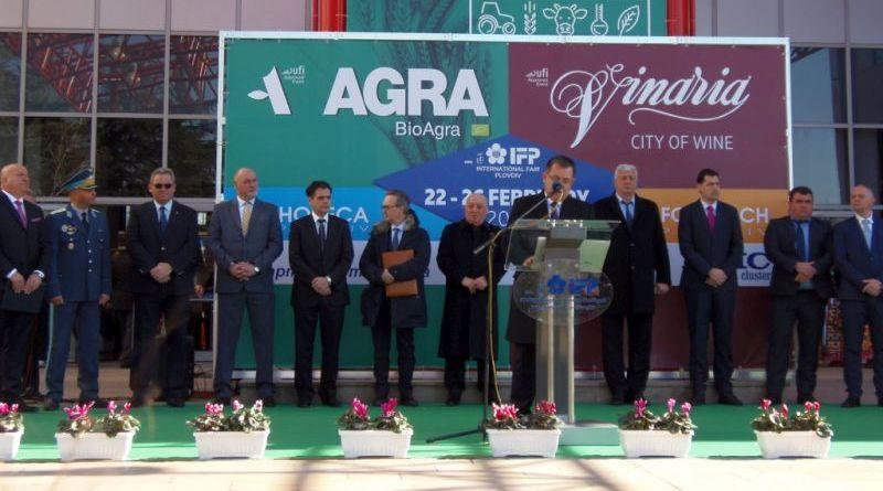 Здравко Димитров присъства на откриването на мегафорума за агробизнес, вино и храни стартира с рекорд
