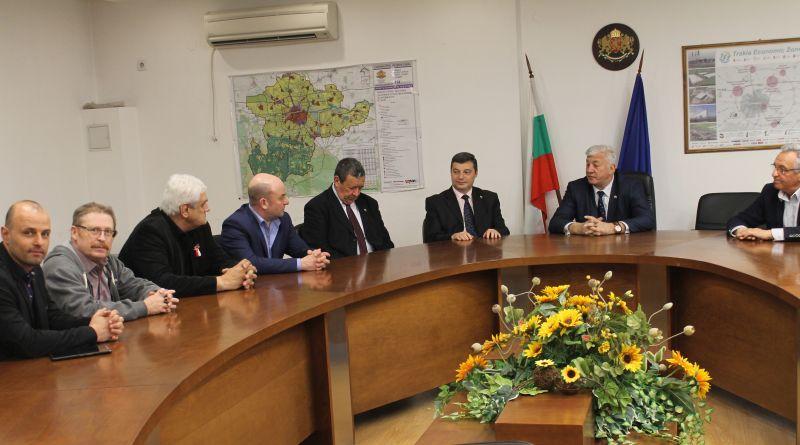 Представители на Търговско- промишлената палата на Русия се срещнаха с областния управител Здравко Димитров