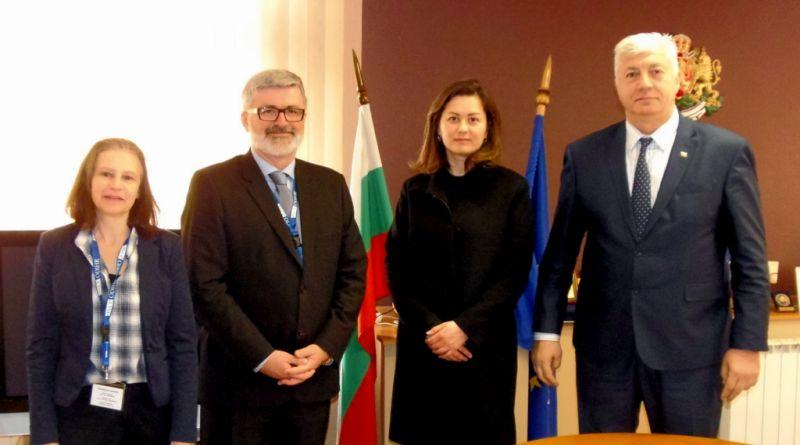 Областният управител Здравко Димитров получи благодарствено писмо от шефът на мисията на ОССЕ Роман Якич