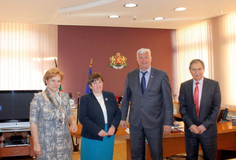 Областният управител Здравко Димитров се срещна с министъра на туризма Стела Балтова