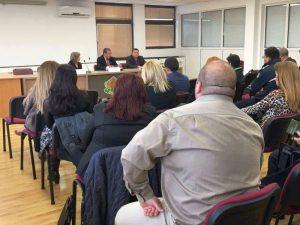 Заседание на Областния съвет за сътрудничество по етническите и интеграционните въпроси