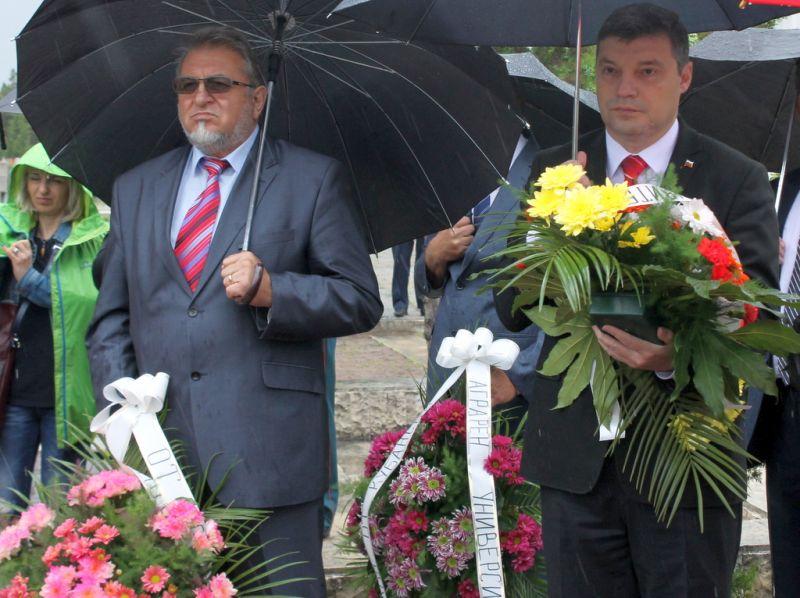 Зам.-областният управител Владимир Петров взе участие в честването на Деня на победата 9-ти май