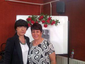 Зам.-областният управител Евелина Апостолова поздрави от името на ОУ Здравко Димитров културните и просветни дейци от Община Съединение
