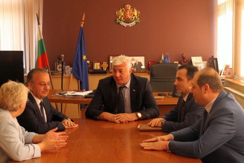 Валията на Одрин бе на официална среща с областния управител Здравко Димитров