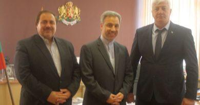 Областният управител Здравко Димитров се срещна с временно управляващия посолството на Ислямска република Иран Хасан Дотаги