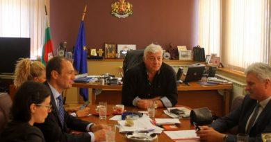 Областният управител обсъди с ръководството на EVN България важни инвестиционни проекти