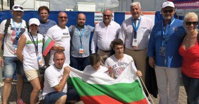 Обща снимка с българи от Сарасота
