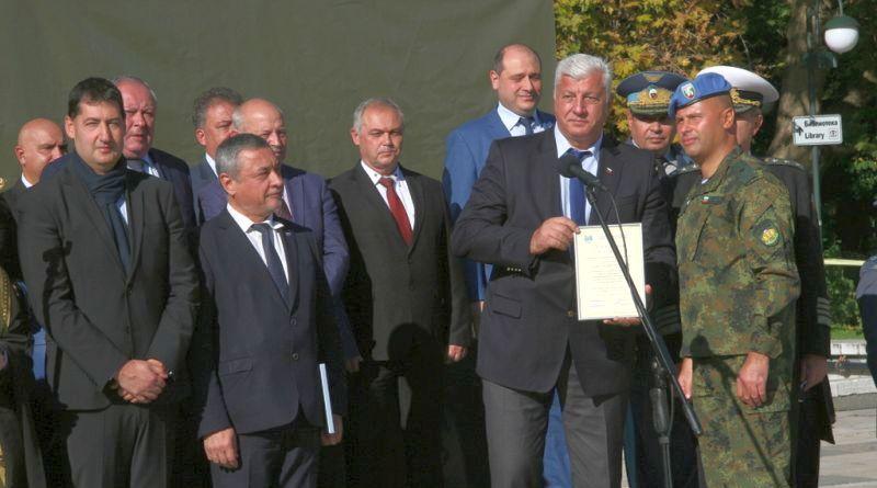 Областният управител Здравко Димитров присъства на тържественото отбелязване на Деня на парашутиста