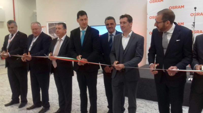 Зам. областните управители Петър Петров и инж. Димитър Керин участваха в официалното откриване на OSRAM