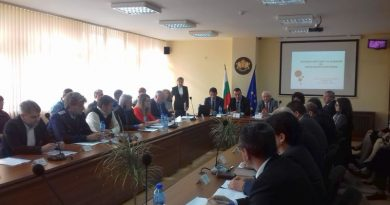 В Кърджали, зам. областният управител Петър Петров, участва в Регионален съвет за развитие на ЮЦР