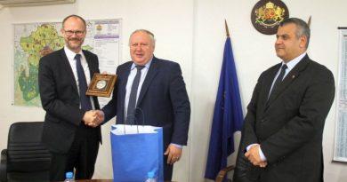 Заместник областните управители на Област Пловдив се срещнаха с извънредния и пълномощен посланик на Кралство Дания