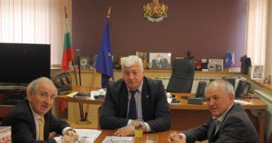Областният управител Здравко Димитров се срещна с посланика на Украйна – Н. Пр. Микола Балтаджи