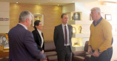 Областният управител Здравко Димитров се среща с ръководството на EVN България