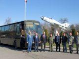 Авиобазата в Граф Игнатиево се сдоби с автобус