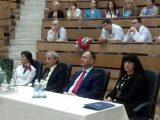 Зам. областният управител Евелина Апостолова поздрави медиците от Клиниката по съдова хирургия за 40-годишния й юбилей