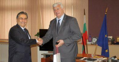Областният управител Здравко Димитров се срещна с новия турски посланик в България Хасан Улусой