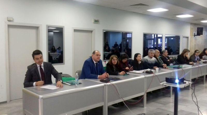 Главният секретар Борислав Димов приветства участниците в конференция ...