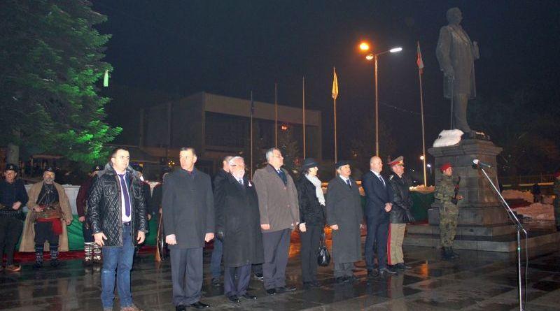 Зам. областният управител инж. Димитър Керин се преклони пред героите от Освобождението в Сопот