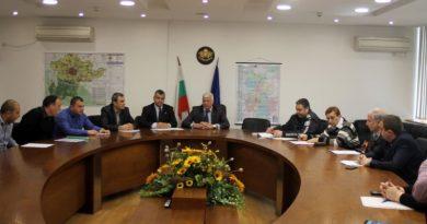 Заседание за състоянието на пешеходните пътеки в Област Пловдив