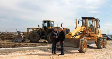 Областният управител Здравко Димитров направи поредната инспекция на строителните дейности на пътя Пловдив - Асеновград