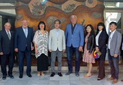 Regional Governor Zdravko Dimitrov met with leading journalists from the Republic of Korea