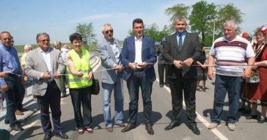 Зам. областният управител инж. Димитър Керин участва в откриването на моста на с. Поройна