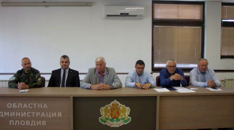 Областният управител Здравко Димитров свика съвещание във връзка с Националната програма за защита при бедствия