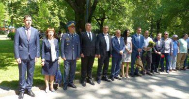 Заместник областният управител Димитър Керин почете Деня на Ботев и на загиналите за свободата на България