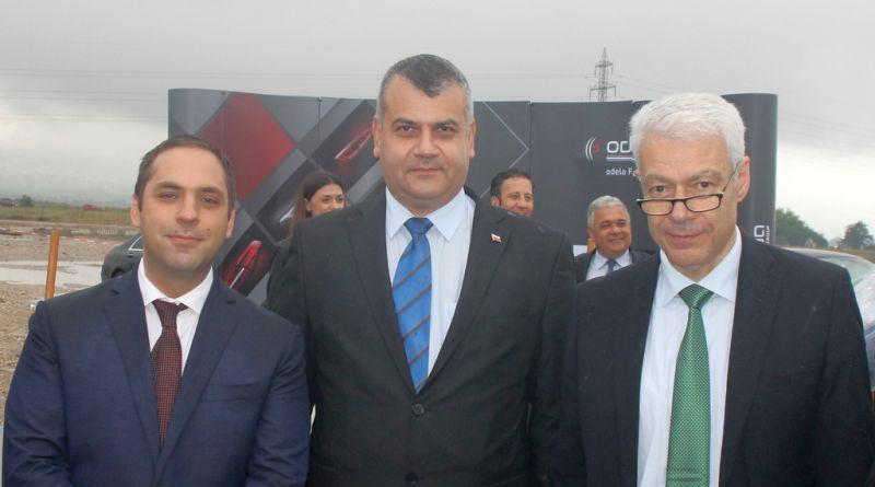 Заместник областният управител Димитър Керин присъства на церемонията по полагане темела на първия завод на Одело Фарба Лайтинг Груп