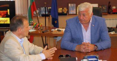 Областният управител се срещна с посланика на Република Малта Н. Пр. Лино Бианко