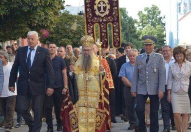 Областният управител г-н Здравко Димитров се поклони пред светите мощи на апостол Андрей Първозвани