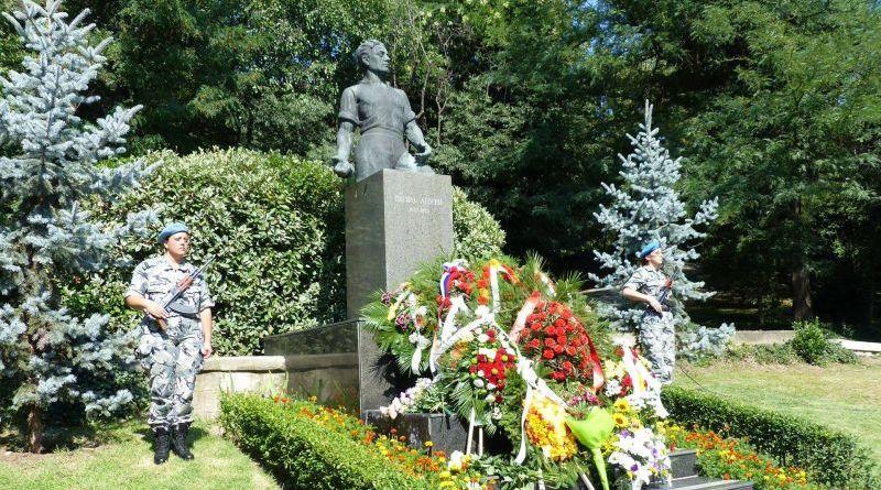 Заместник областният управител Димитър Керин почете 181 години от рождението на Васил Левски
