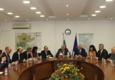 The Regional Governor Zdravko Dimitrov welcomed Alberto Bonisoli – Minister of Culture and Tourism of Italy