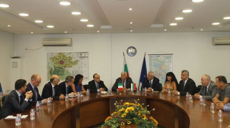 Областният управител Здравко Димитров посрещна министъра на културното наследство, културните дейности и туризма на Италия
