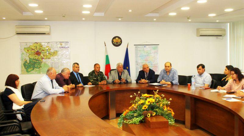 Трета работна среща във връзка с възстановяването и реконструкцията на Военен клуб – Пловдив