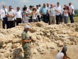Премиерът Борисов и областният управител посетиха уникалния гробищен комплекс Малтепе
