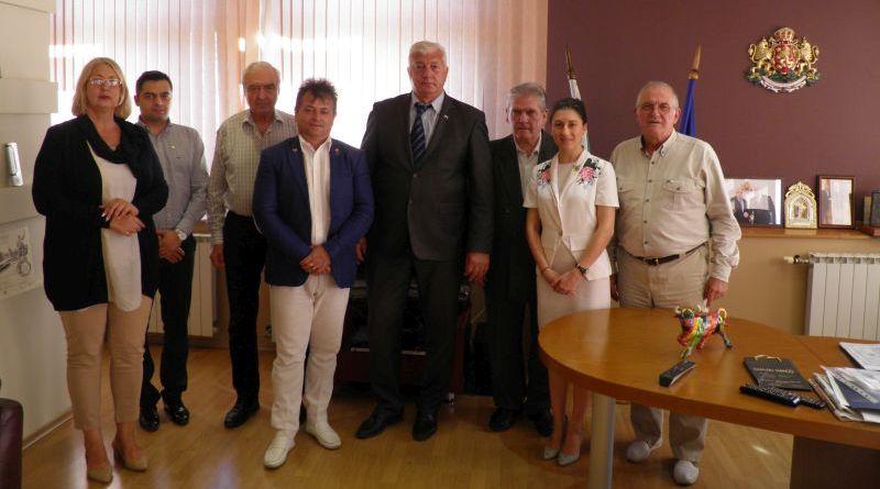 Областният управител Здравко Димитров се срещна с Дистрикт гуверньора Веселин Димитров