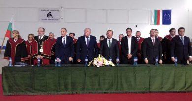Министърът на образованието присъства на 58-мата церемония по откриване на учебната година в ПУ Паисий Хилендарски