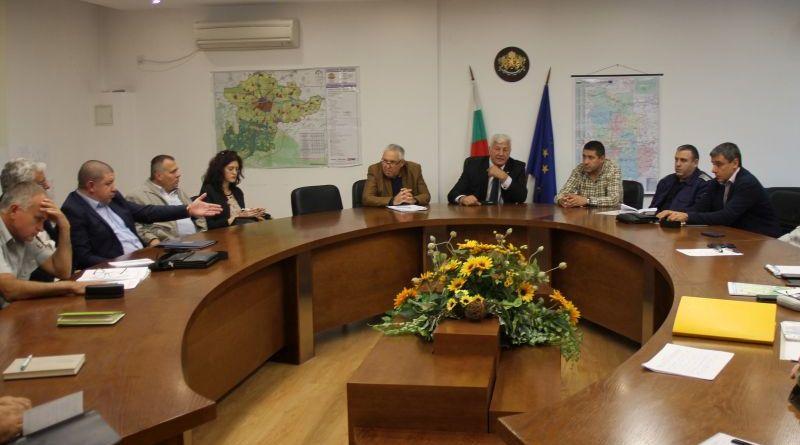 Работна среща във връзка с изграждането на Локална известителна система за ранно предупреждение до яз. Кричим