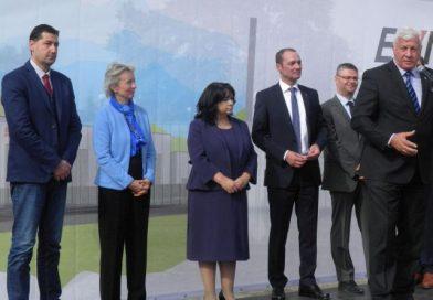 """Областният управител поздрави мениджърите на ЕVN за изграждането на новата подстанция """"Евмолпия"""""""