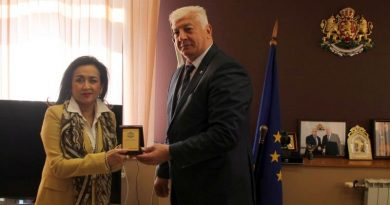 Областният управител Здравко Димитров прие посланика на Република Индонезия в България Н.Пр. г-жа Сри Астари Расджид и нейния екип.