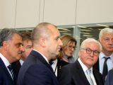 Областния управител Здравко Димитров посрещна президентите на България – Румен Радев и Германия – Франк-Валтер Щайнмайер в Liebherr