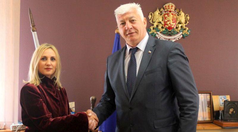 Областният управител се срещна с посланика на Албания