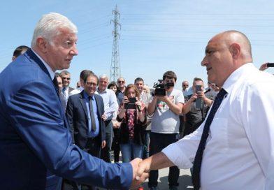 Областният управител и премиерът Борисов инспектираха окончателното завършване на пътя Пловдив-Асеновград
