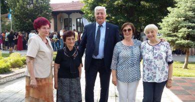 Областният управител присъства на тържество в ЦДГ Рая